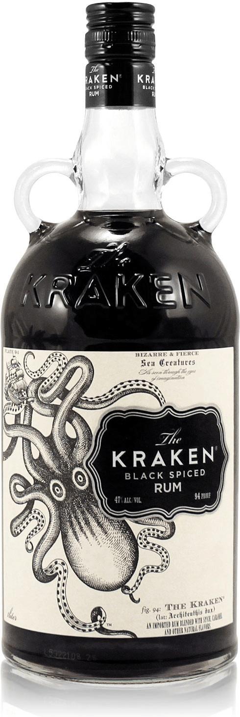 The Kraken Black Spiced 47% 1l