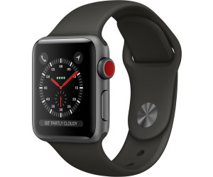 apple watch series 3 gps cellular au meilleur prix. Black Bedroom Furniture Sets. Home Design Ideas