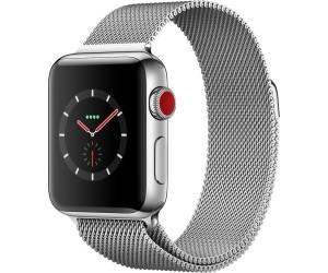 apple watch series 3 gps cellular 38 mm acier inoxydable. Black Bedroom Furniture Sets. Home Design Ideas