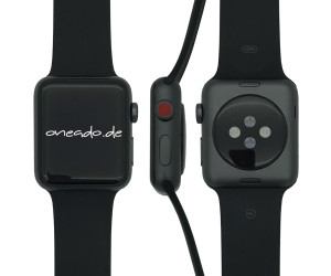 apple watch series 3 gps cellular 42 mm aluminium gris. Black Bedroom Furniture Sets. Home Design Ideas