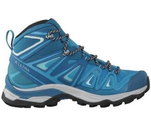 Salomon X Ultra 3 Mid GTX Women deep lagoonenamel blueeggshell blue
