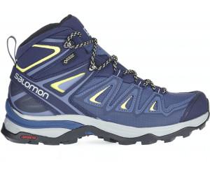 Salomon Women's X Ultra 3 Mid (Gore-Tex) Boots - Intensives Wandern Crown Blue/Evening B 5 Auslass Besuch Neu OszIM