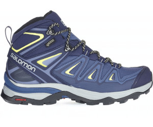 X ULTRA 3 MID GTX Hiking shoes crown blueevening bluesunny lime