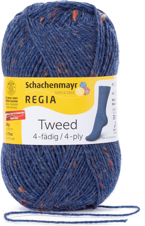 Regia 4-fädig Tweed jeans (00052)
