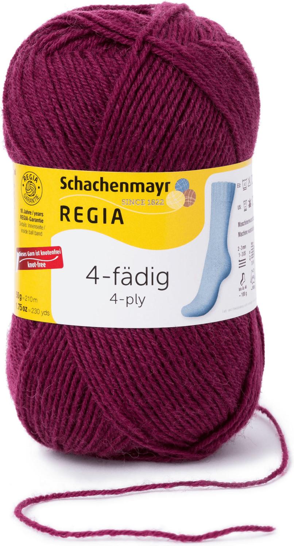 Regia 4-fädig 50 g kardinal (01078)