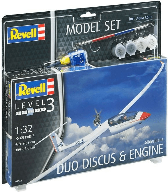 Revell Model Set Segelflugzeug DUO DISCUS (63961)