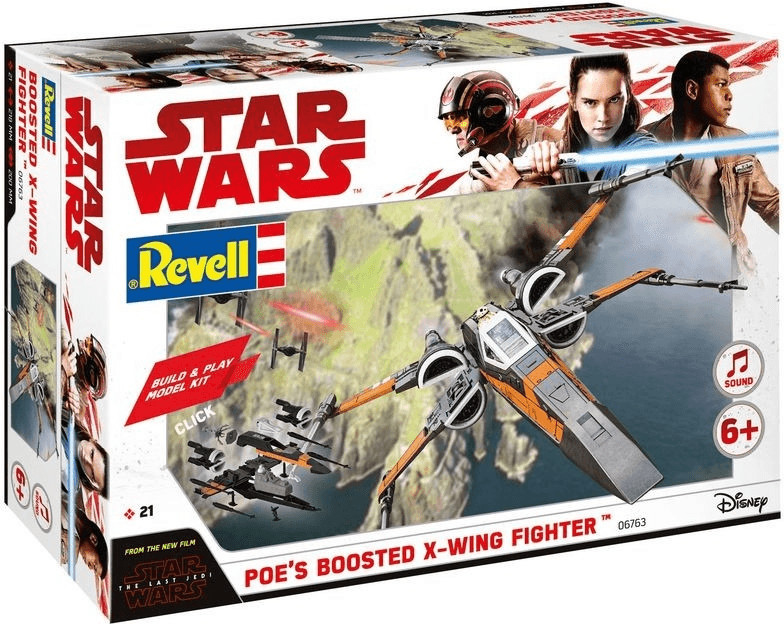 Revell Build & Play Poe´s Boosted X-Wing (06763)