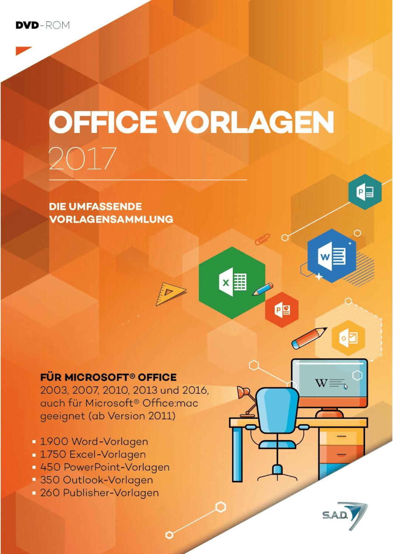 S.A.D. Office Vorlagen 2017