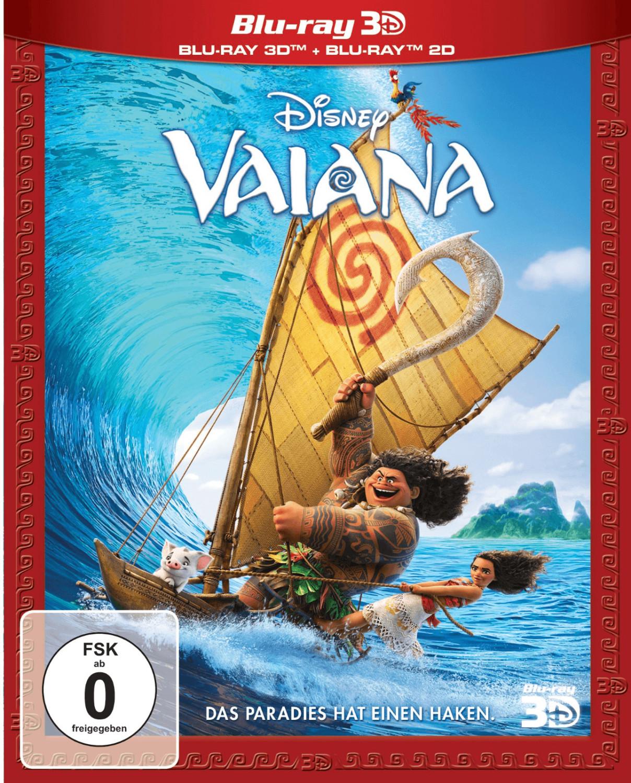 Vaiana 3D [Blu-ray]