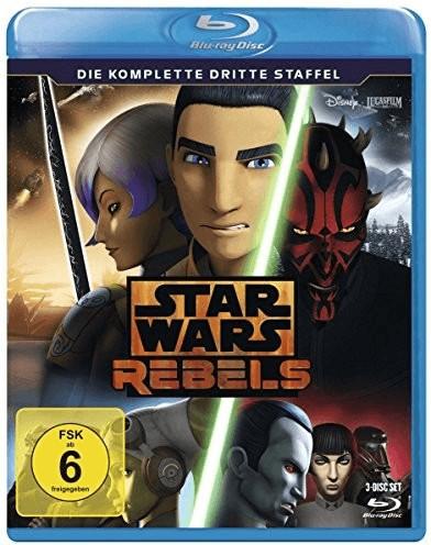 Star Wars Rebels Staffel 3 [Blu-ray]