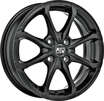 MSW X4 (7x16) matt black