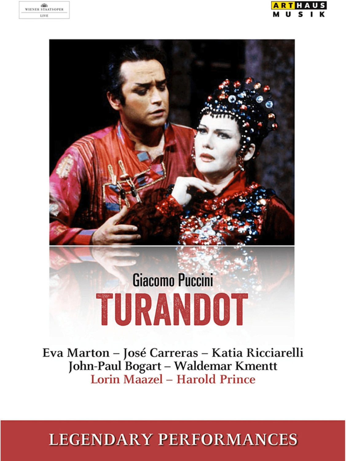 Turandot (Legendary Performances) [DVD]