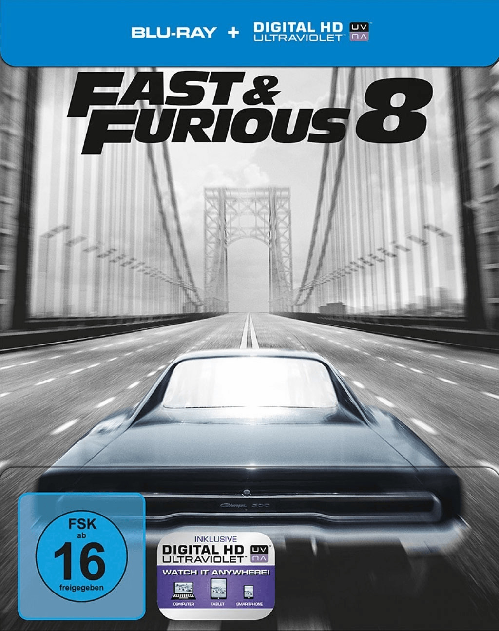 Fast & Furious 8 (Blu-ray + Digital HD Ultravio...