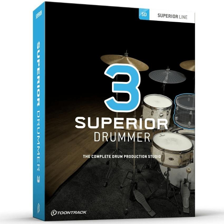 Toontrack Superior Drummer 3 Upgrade (ESD)