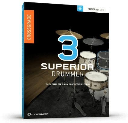 Toontrack Superior Drummer 3 Crossgrade (ESD)