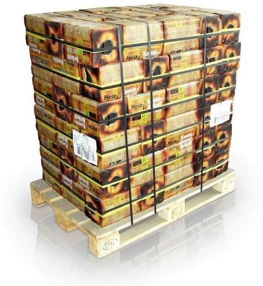 Heizprofi Kaminbriketts 96 x 10 kg
