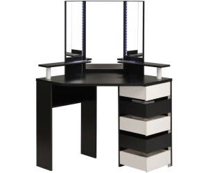 parisot eck schminktisch mit hocker volage ab 299 00. Black Bedroom Furniture Sets. Home Design Ideas