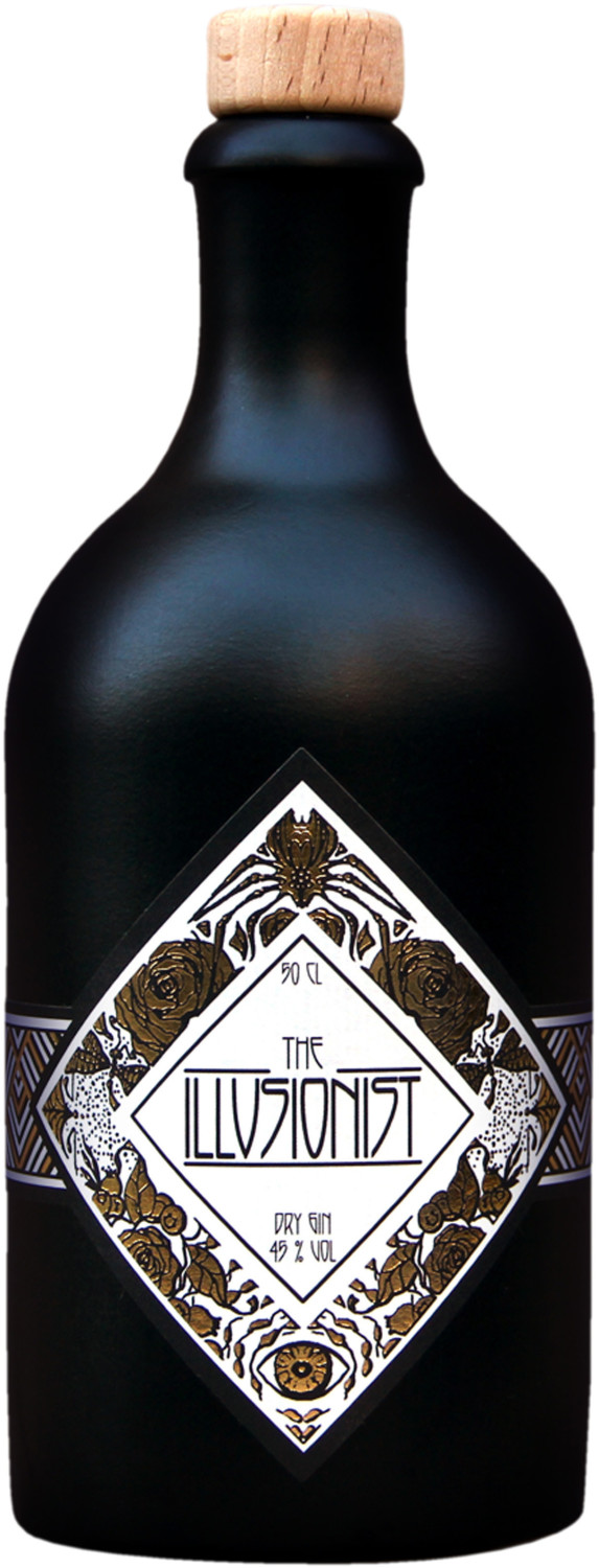 The Illusionist Dry Gin 0,5l 45%