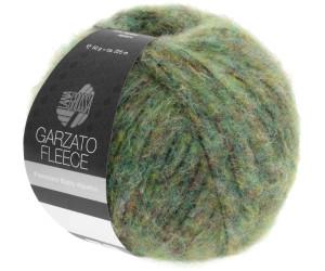 Garzato Fleece Lana Grossa Wolle Kreativ Fb 24 weiß//grau 50 g