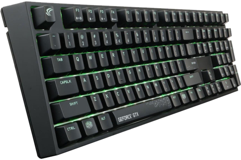 CoolerMaster MasterKeys Pro L RGB GeForce GTX Edition
