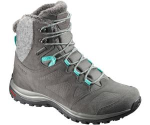 Salomon Ellipse GTX Winter Shoes Women Castor Gray/Beluga/Biscay Green 38 2017 Winterstiefel VtvpKjPaT