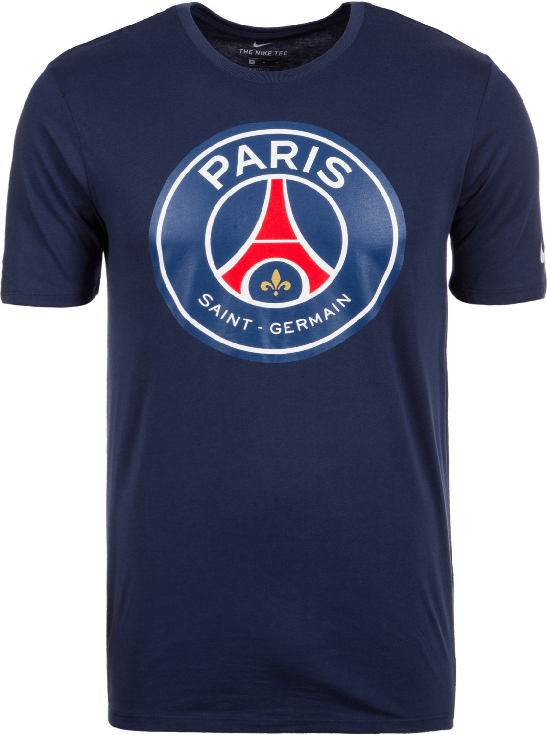 Nike Paris Saint-Germain Crest T-Shirt midnight...