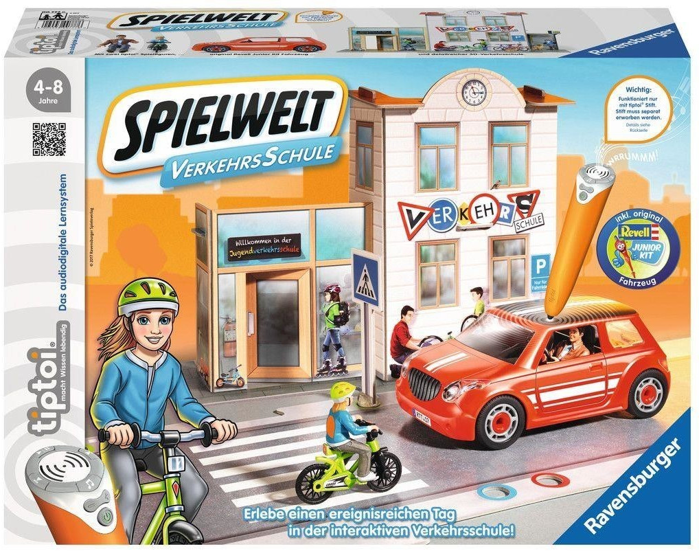Ravensburger tiptoi Spielwelt Verkehrsschule (00777)