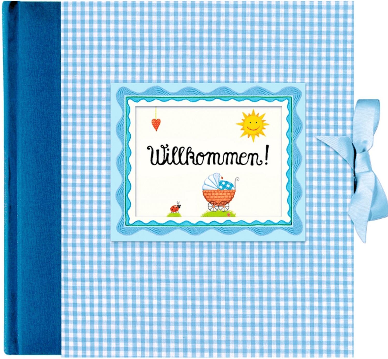 Coppenrath Babyalbum Willkommen 24x24/65 blau
