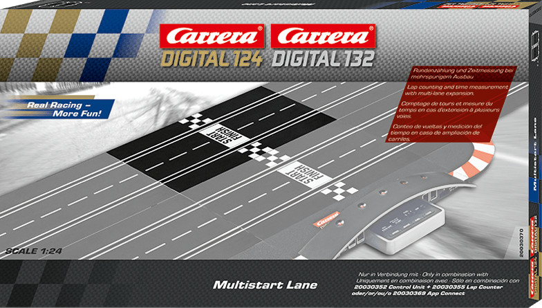 Carrera Digital 124 Multistart Lane