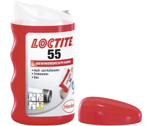 loctite 55 gewindedichtfaden 160m wei ab 8 99. Black Bedroom Furniture Sets. Home Design Ideas