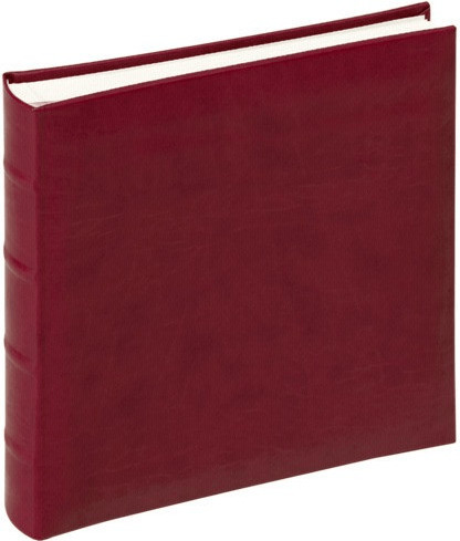 walther design Fotoalbum Classic 26x25/60 weinrot