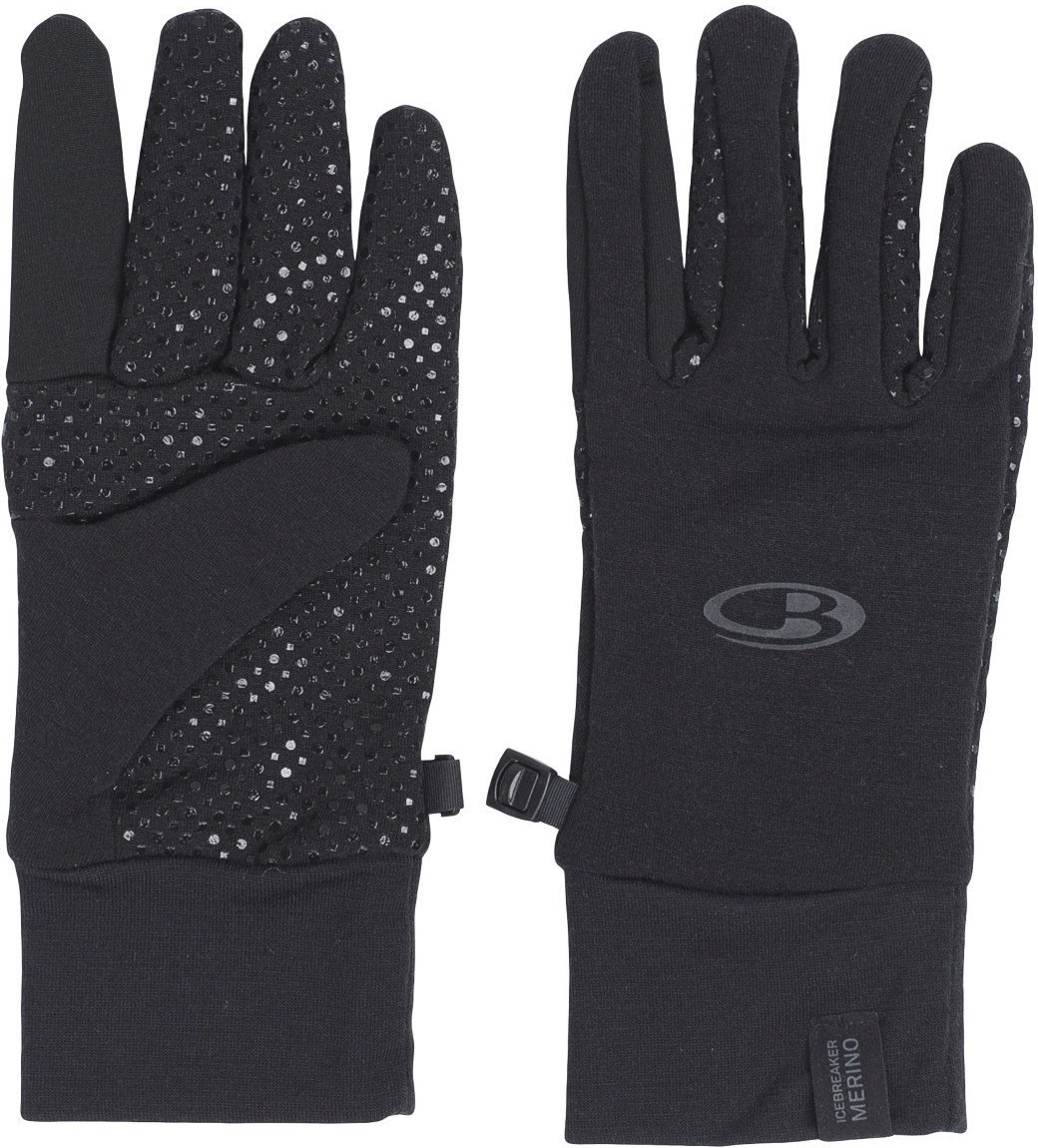 Icebreaker Adult Sierra Gloves cargo/black