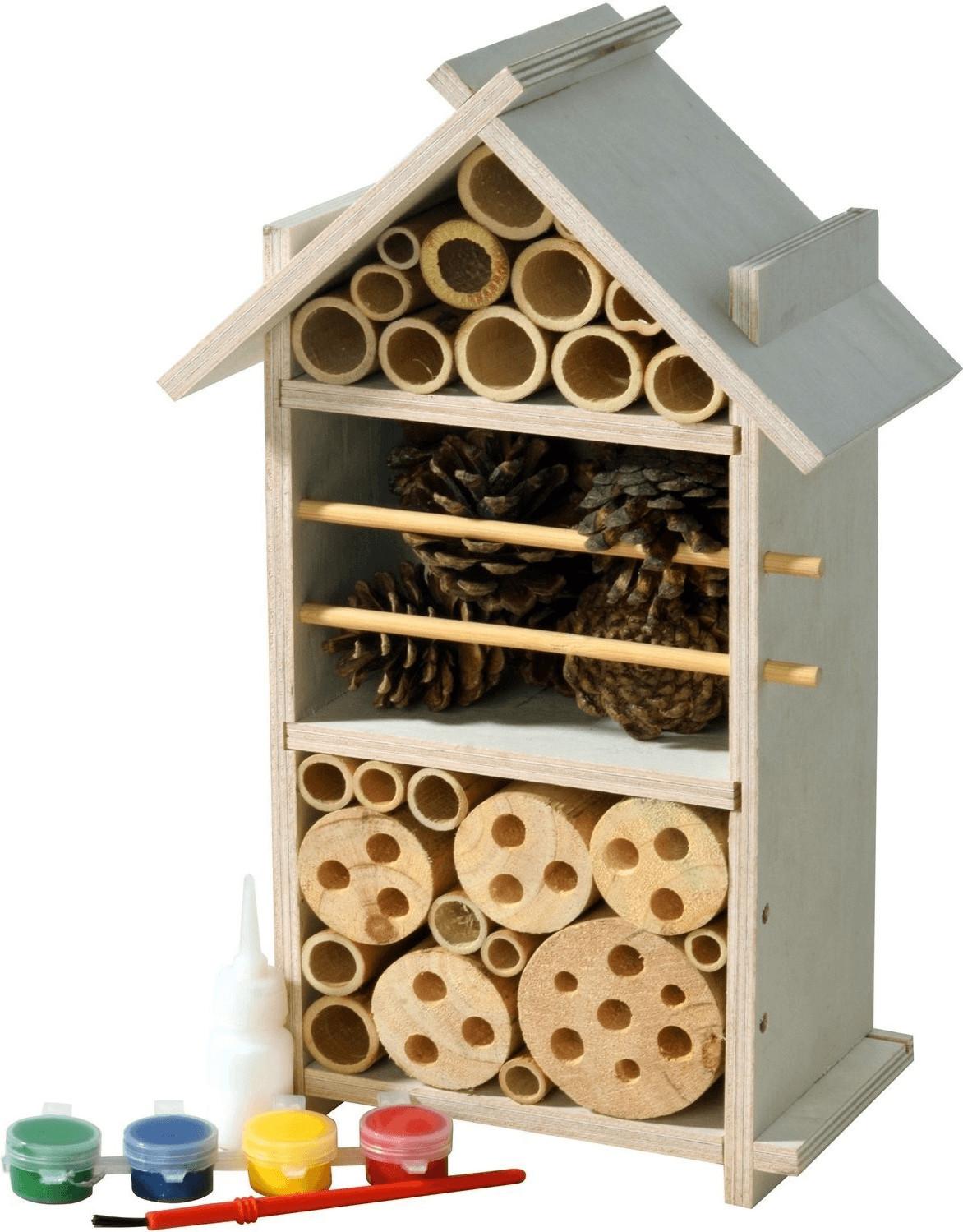 Luxus-Insektenhotels Insektenhotel-Bausatz für Kinder (22369FSC)