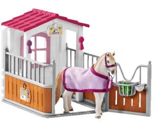 Pferdebox mit Lusitano Stute gebraucht, sehr gut Horse Club Schleich 42368