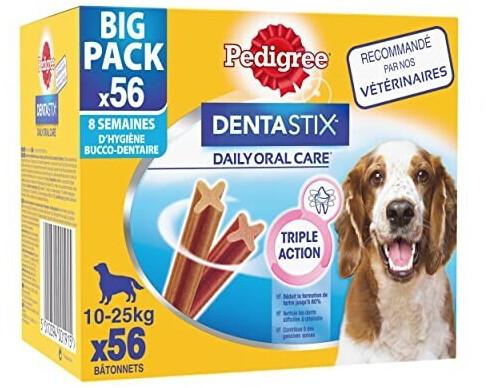 Pedigree DentaStix für mittelgroße Hunde (56 Stk)