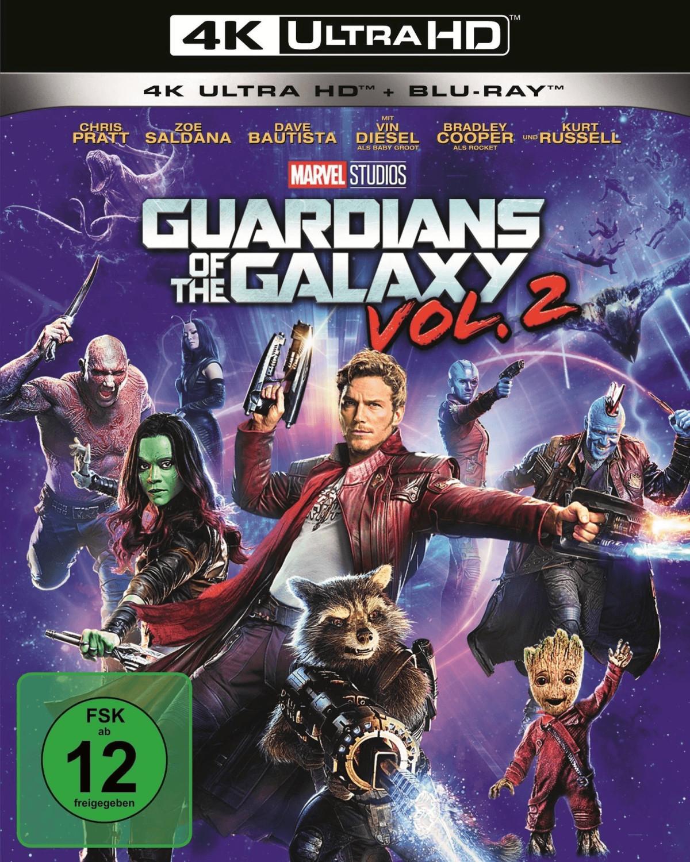 Guardians of the Galaxy Vol. 2 (4K Ultra HD) [Blu-ray]
