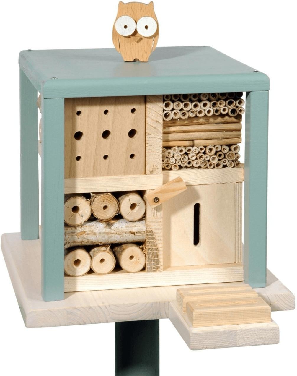Luxus-Insektenhotels Insekten-Kubus Gasthof Zur Freundlichen Eule