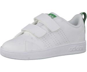 detailed look 0e9e5 8bda4 Adidas NEO VS Advantage Clean CMF INF white white green
