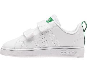 Adidas NEO VS Advantage Clean CMF INF whitewhitegreen au