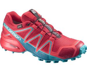 Salomon Speedcross 4 damen Trail schuhe Blau GTX Running