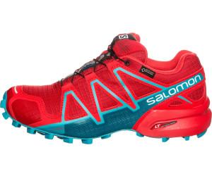 Salomon Speedcross 4 GTX Women - barbados cherry/poppy red/deep lagoon sXQEQ2107