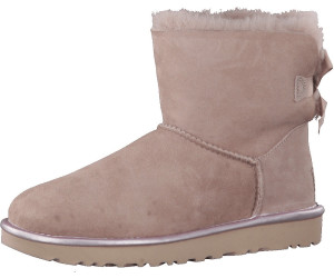 UGG Classic Mini II Metallic Dusk, Schuhe, Stiefel & Boots, Stiefel aus Schafsleder, Lila, Pink, Female, 37