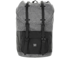 herschel little america backpack raven crosshatch black. Black Bedroom Furniture Sets. Home Design Ideas