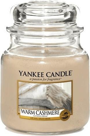Yankee Candle Warm Cashmere Mittelgroße Kerzen ...