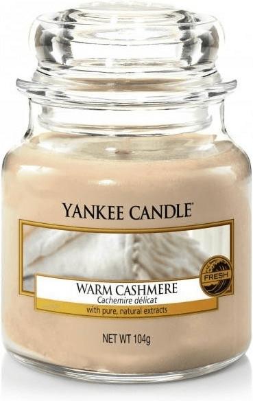 Yankee Candle Warm Cashmere Kleine Kerzen im Glas