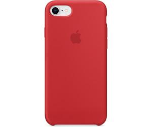 apple coque silicone iphone 7 8 rouge au meilleur prix sur. Black Bedroom Furniture Sets. Home Design Ideas