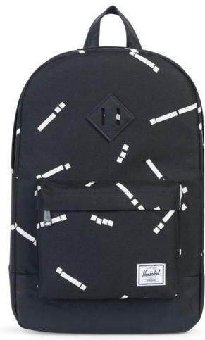 Herschel Heritage Mid-Volume Backpack black code