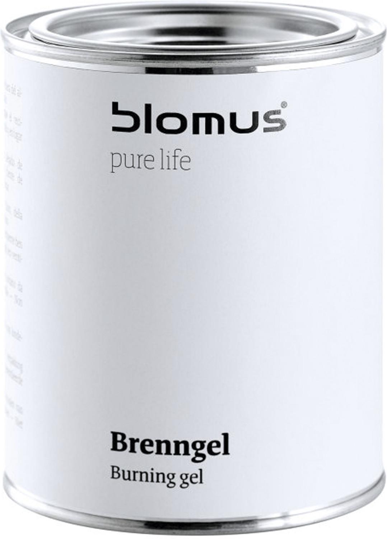 Blomus Luna Brenngel-Dose weiss | Wohnzimmer > Kamine & Öfen > Kaminzubehör