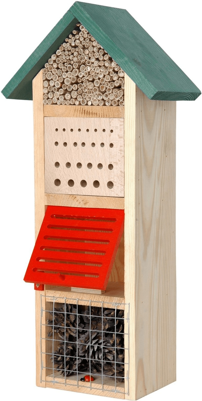 Dobar Insektenhotel Turm mit Spitzdach (22620e)