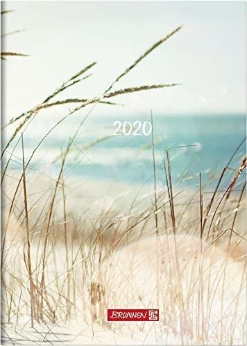 Brunnen Buchkalender Strand A5 2020